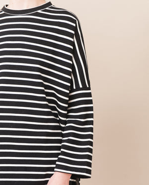 SOMA Organic Cotton Top In Black And White