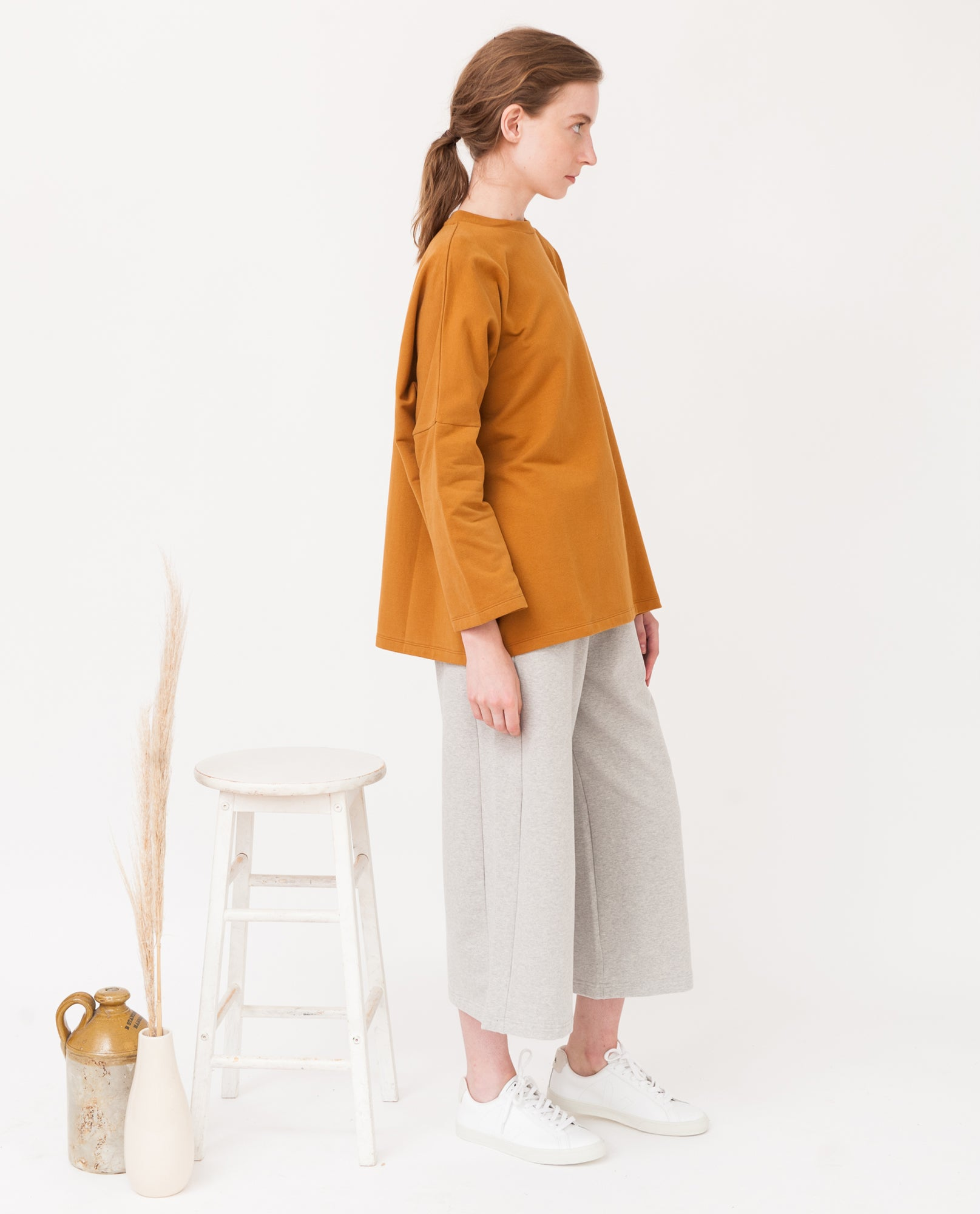 SOMA Organic Cotton Top In Rust