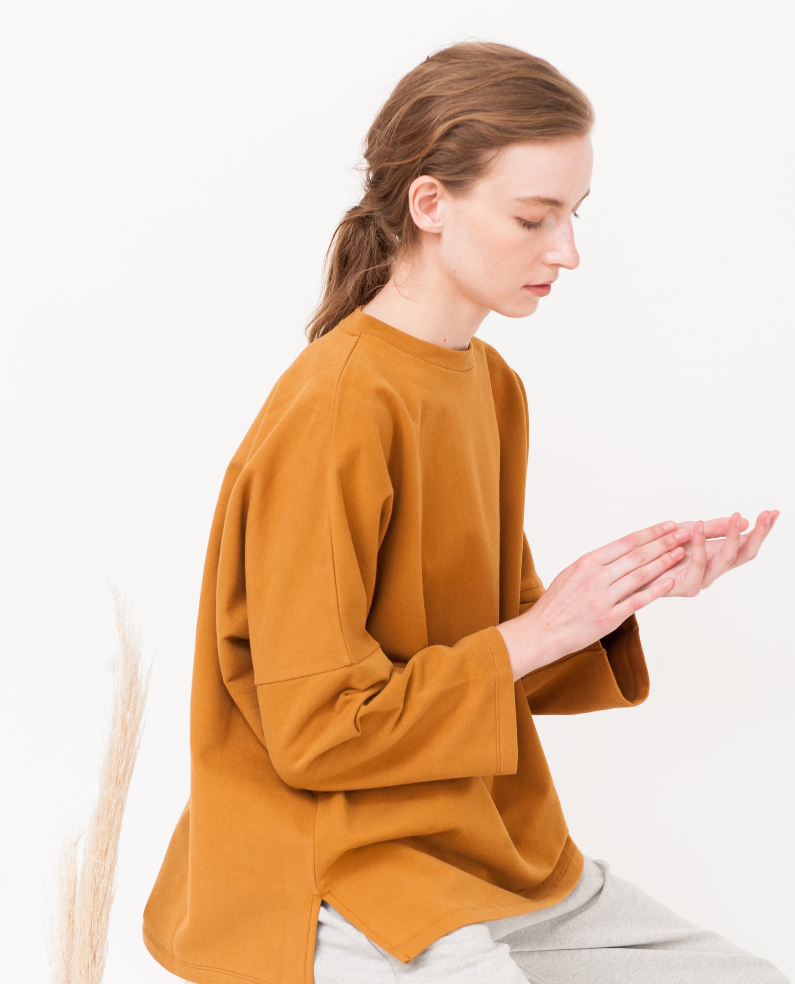 SOMA Organic Cotton Top In Rust from Beaumont Organic