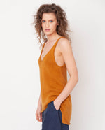 Stella Organi Cotton Vest In Sun