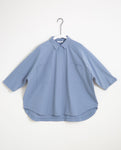 Stephanie Organic Cotton Shirt In Sky