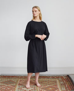 TALITA Organic Cotton Dress In Black