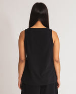 Thea Organic Cotton Top In Black