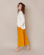 Tracey-Ann Organic Cotton Trouser In Sun