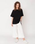 Tracey Organic Cotton Trouser In White