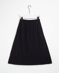 Valentina Organic Cotton Skirt In Black