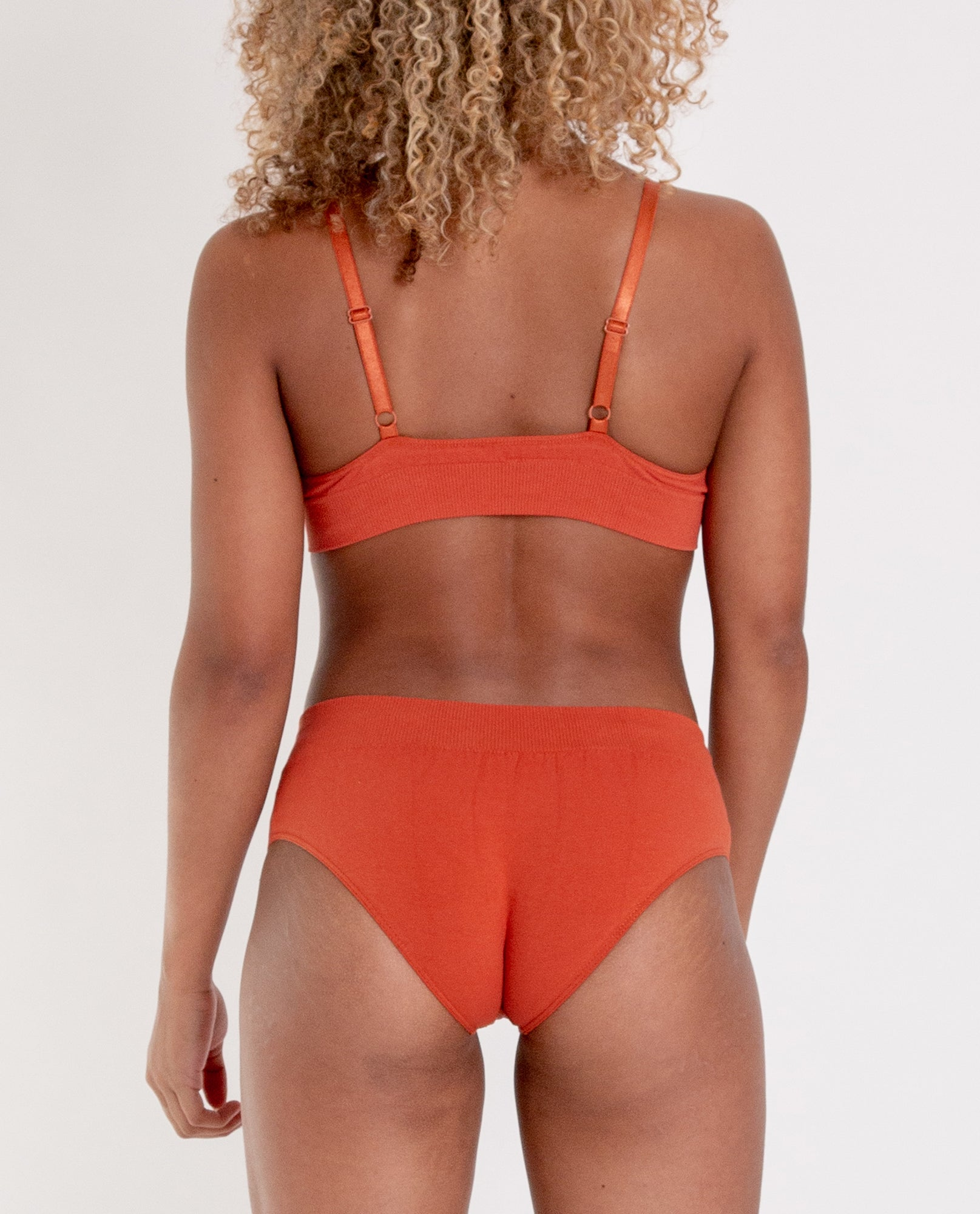 VINETA Organic Cotton Knickers In Madder