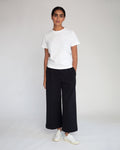 Winona Organic Cotton Trousers In Black