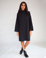 Xena Organic Cotton Dress In Black