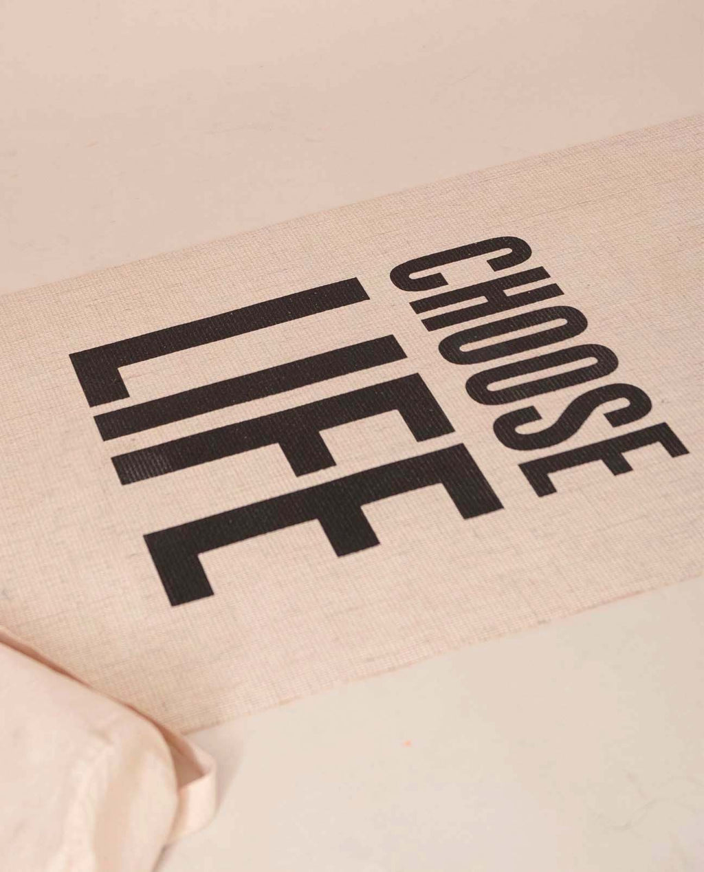Choose Life Yoga Mat