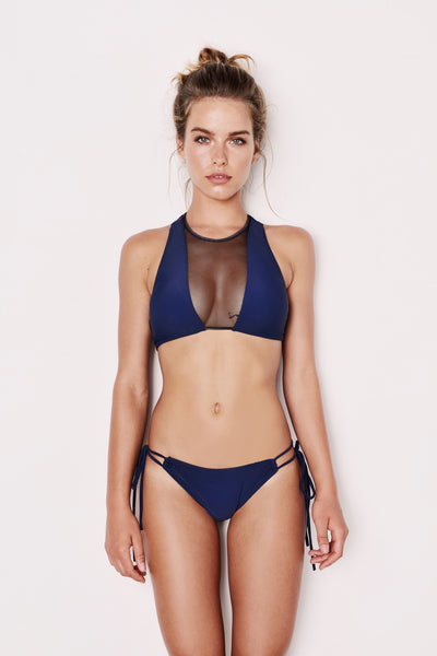 "Mesh Front Blue Bikini - The ""Thanu"""
