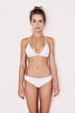 "The White Adjustable Bikini - ""The Yuan"""
