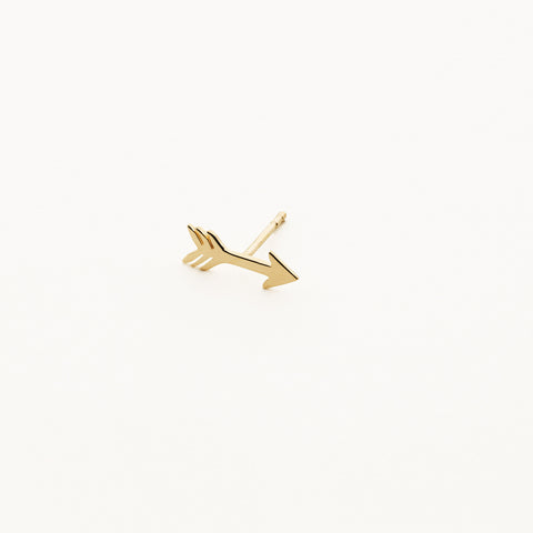 Arrow earring - 18k gold