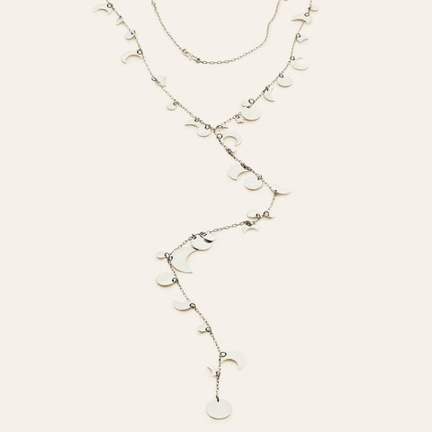 Secret Star necklace - silver