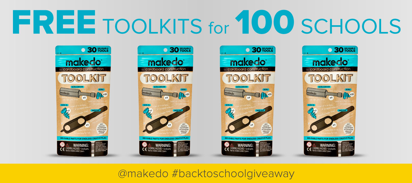 Free TOOLKITS for 100 U.S. schools! Click here for more info