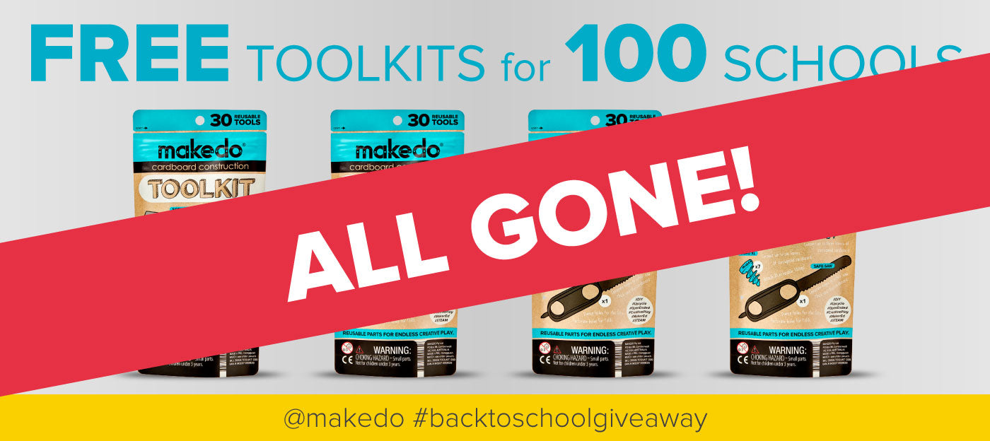 Makedo Back to School Giveaway - ALL GONE!