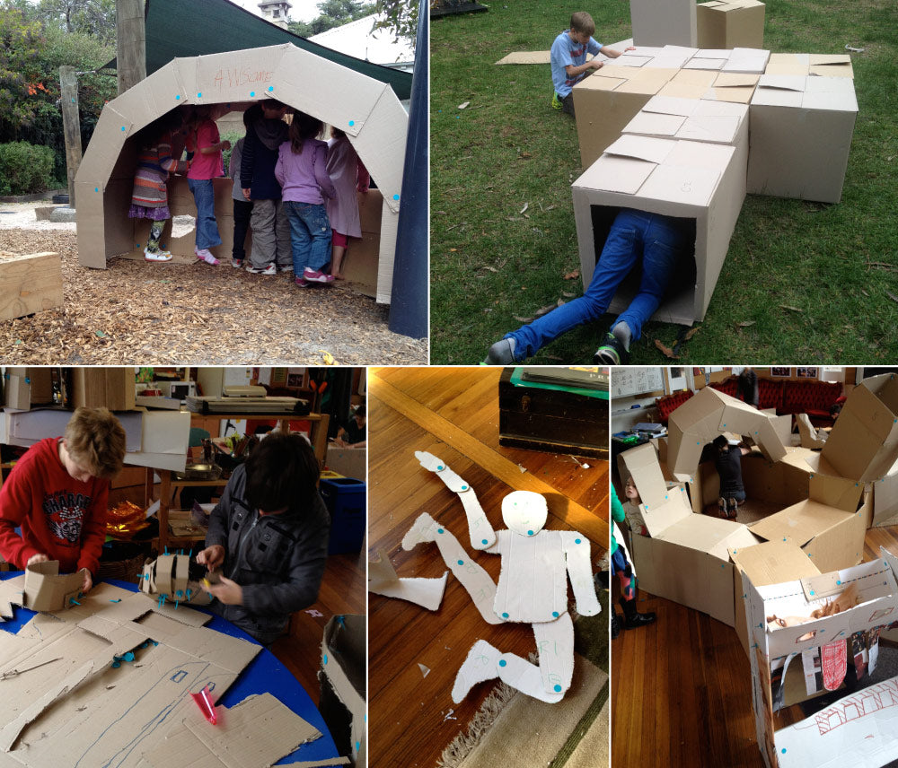 Makedo cardboard creativity in the classroom