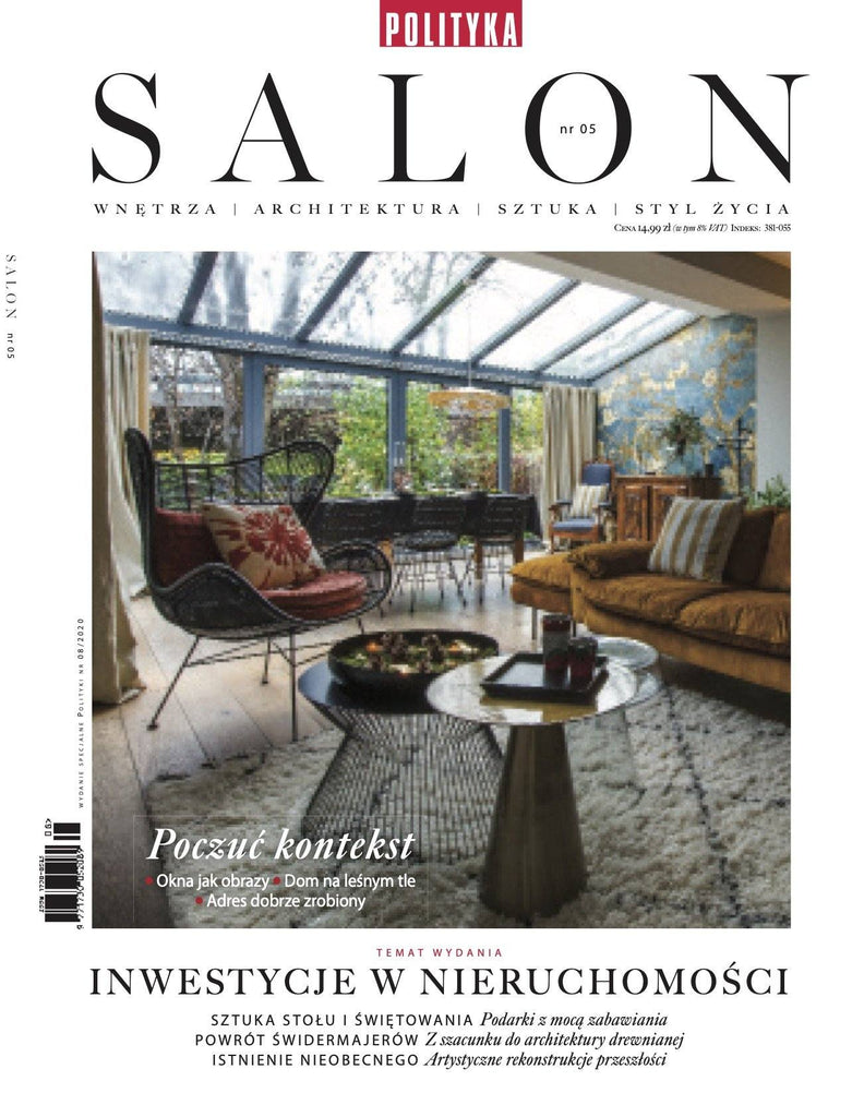 SALON INTERIOR MAGAZINE - POLAND // AUGUST 2020