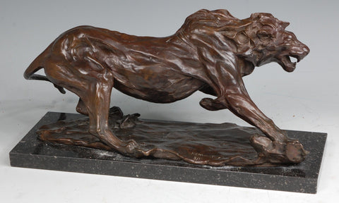 Bronze Lion by Jonathan Kenworthy