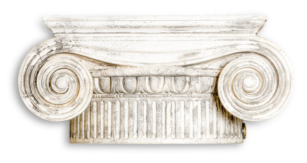 A Plaster Cast of a Greek Ionic Capital