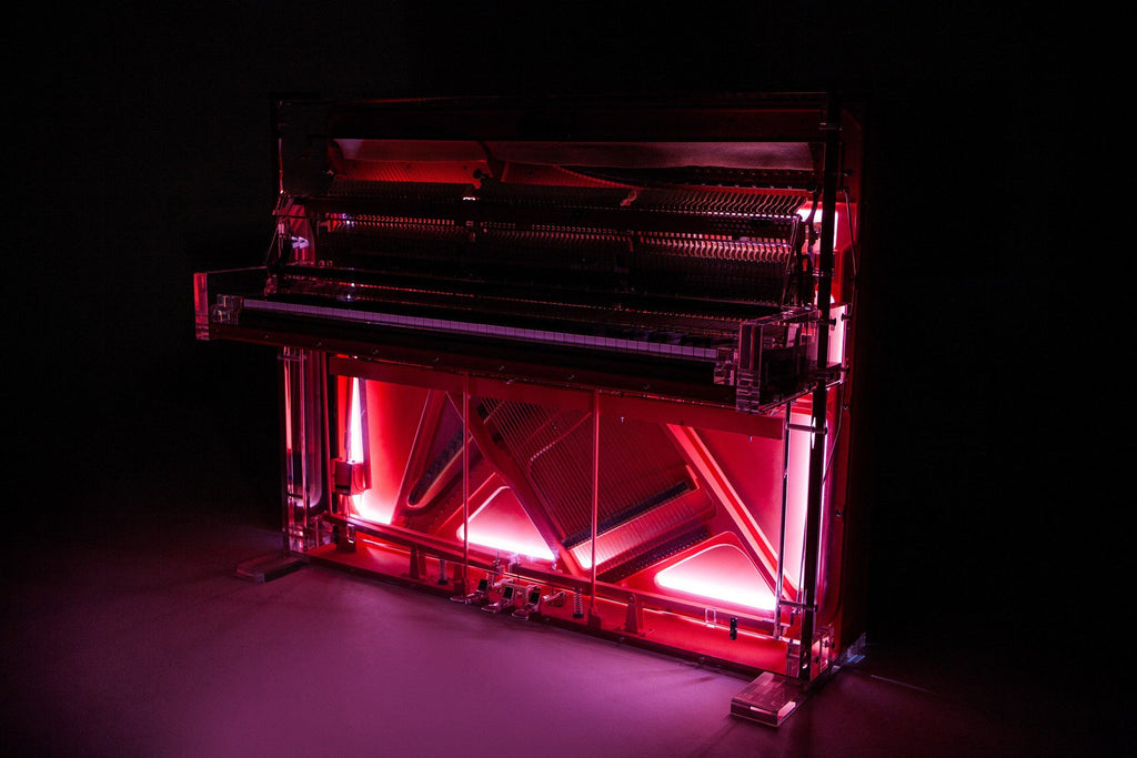 'Coral Piano' by Dio Davies - A Modern Grand Tour