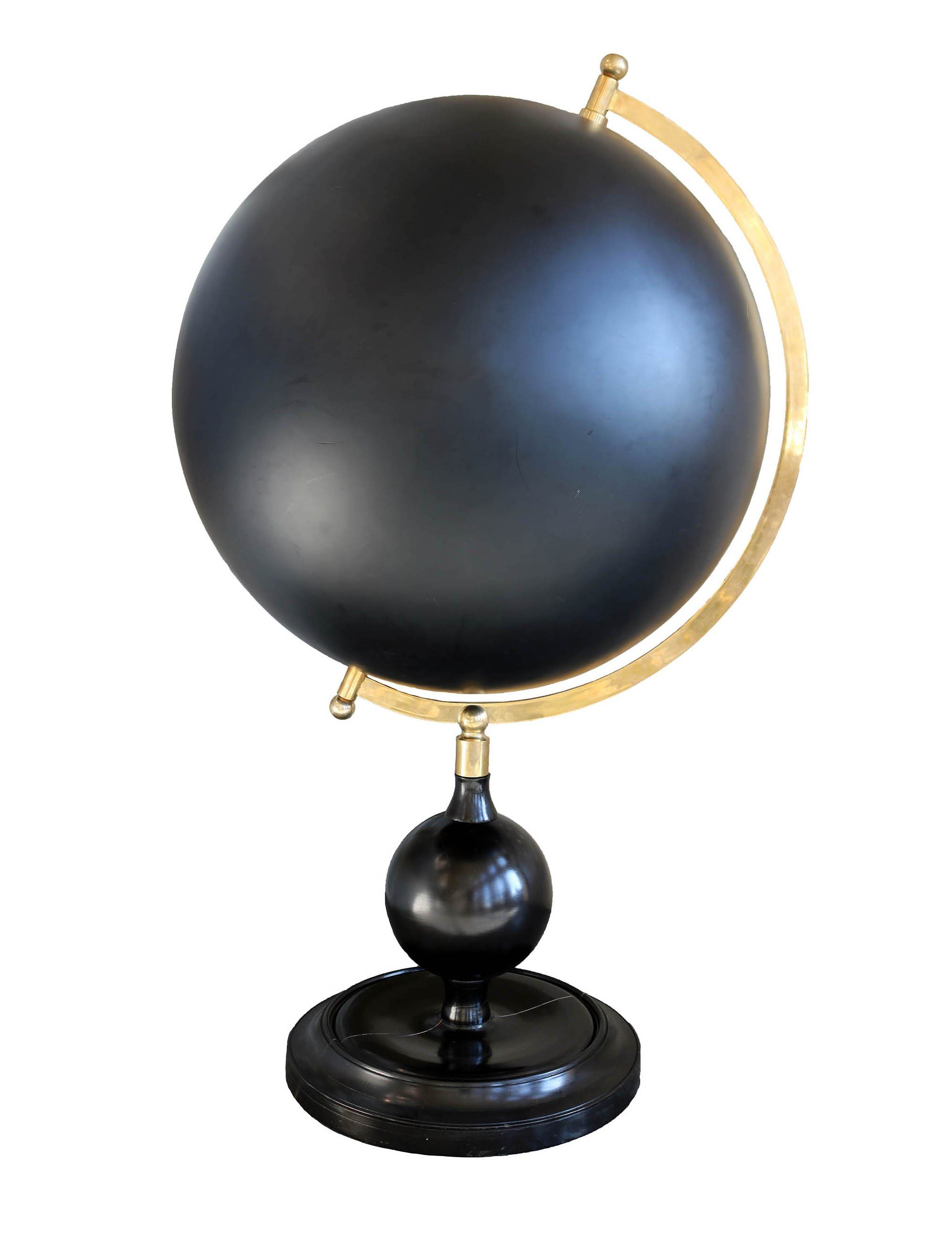Large Celestial Globe with Brass Meridian - A Modern Grand Tour
