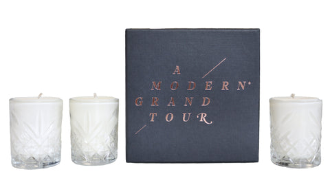 Mini Candle Gift Set - A Modern Grand Tour