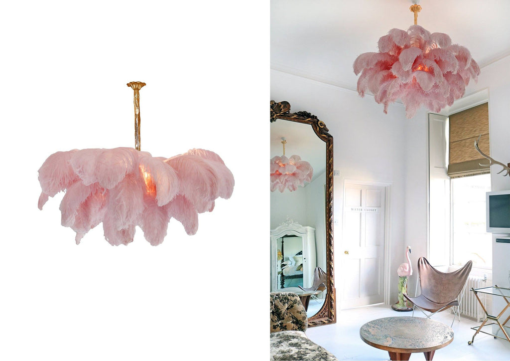 The Feather Chandelier - A Modern Grand Tour