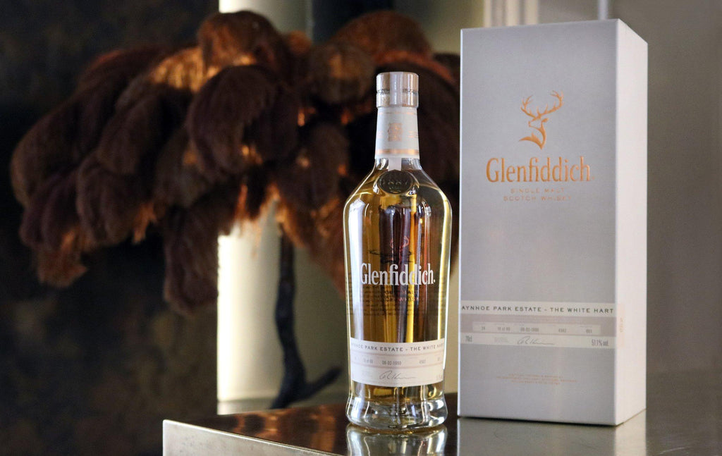 The White Hart Whisky by Aynhoe Park and The Ledbury with presentation box - A Modern Grand Tour