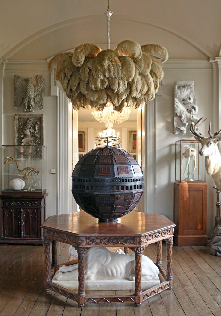 Extra Large Feather Chandelier - A Modern Grand Tour