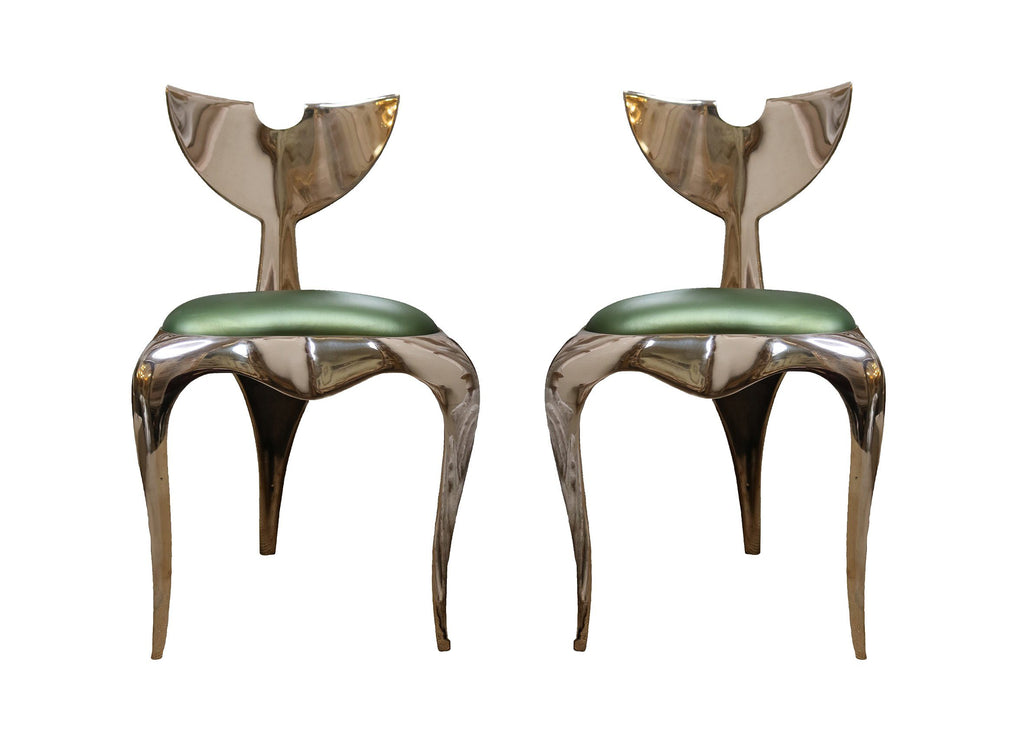 Pair of Limited Edition 'Whaletail Chairs' by Mark Brazier-Jones - A Modern Grand Tour