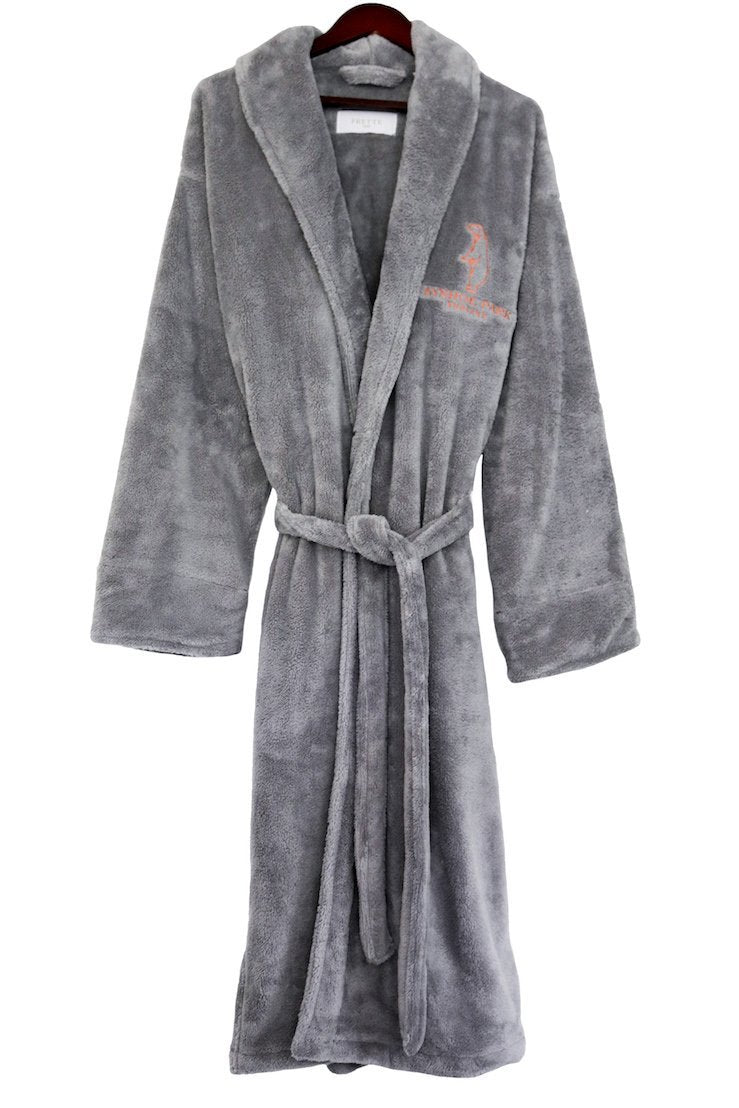 Aynhoe Park Dressing Gown - Polar bear