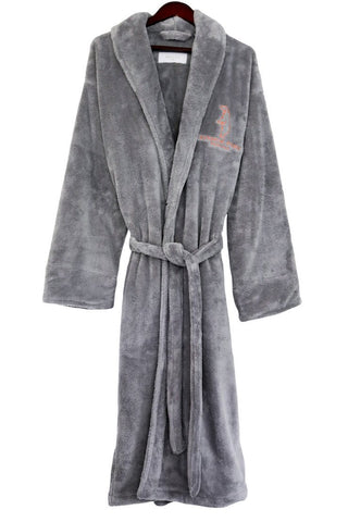 Aynhoe Park Dressing Gown - Polar bear - A Modern Grand Tour