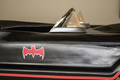 Super Rare 'Batmobile' Anti Crime Batman Pedal Car