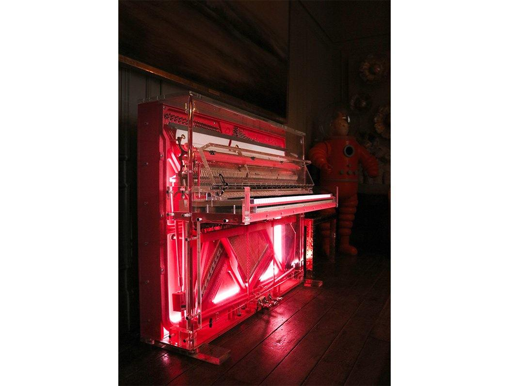 Coral Piano by Dio Davies