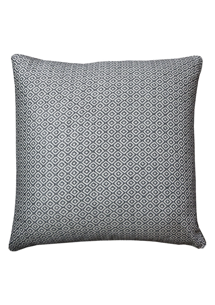 Woven Geometric Cushion - A Modern Grand Tour