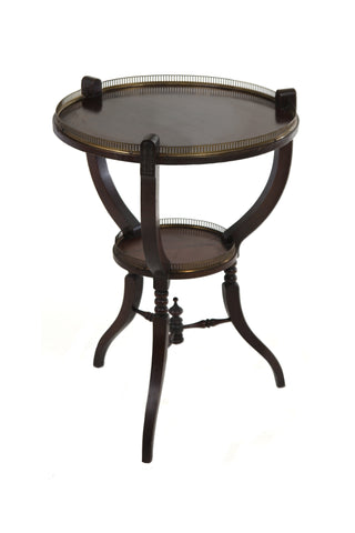 Early 20th Century Mahogany Globe Table - A Modern Grand Tour
