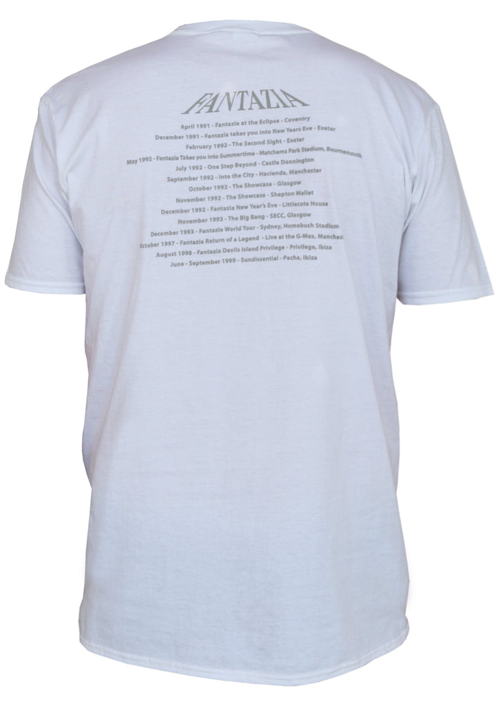 Fantazia T-shirt in White - A Modern Grand Tour