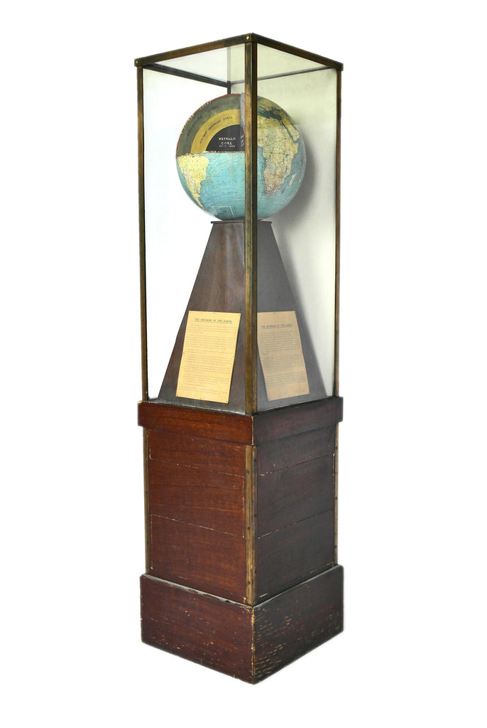 Globe Display Cabinet - A Modern Grand Tour