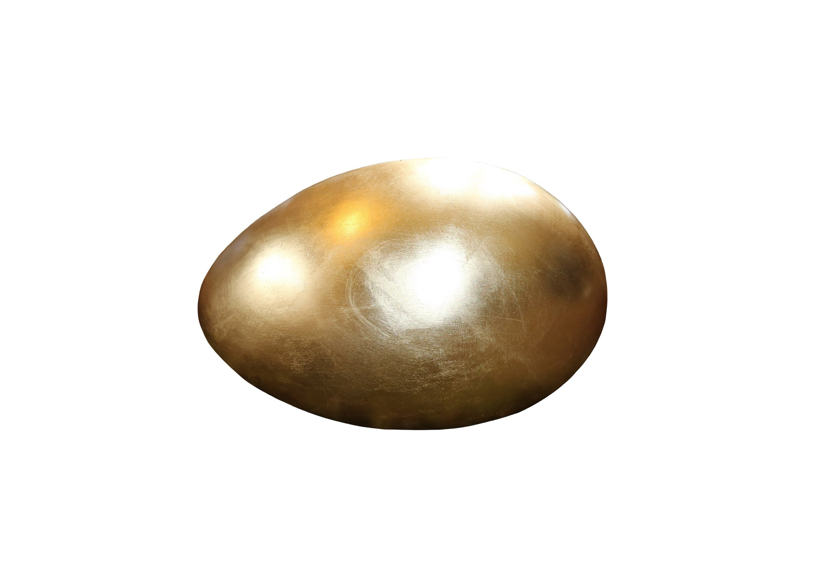 Golden Egg Footstool - A Modern Grand Tour