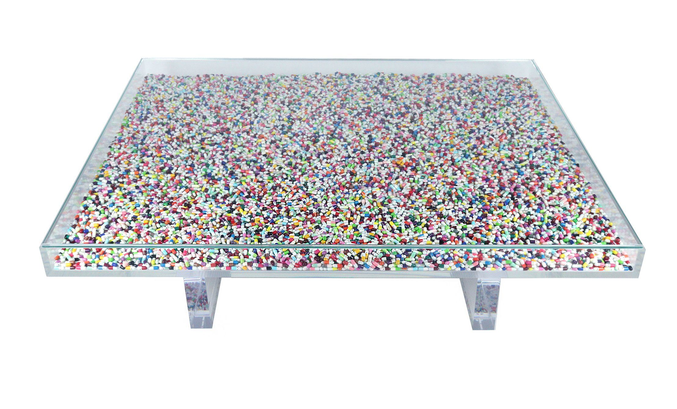 'The Happy Pill Table' by Dio Davies - A Modern Grand Tour