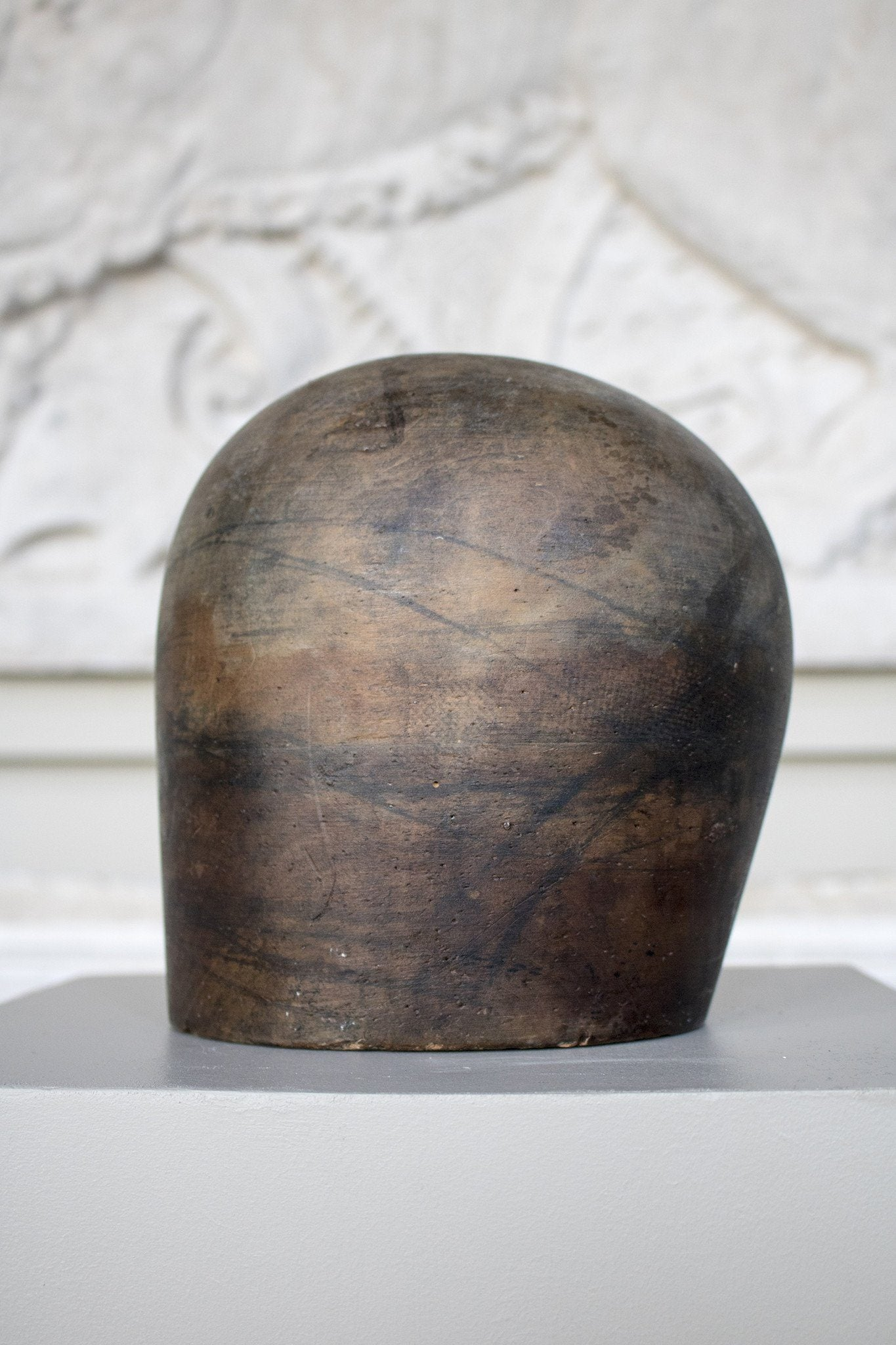 19th Century Solid Treen Hat/Wig Blocks