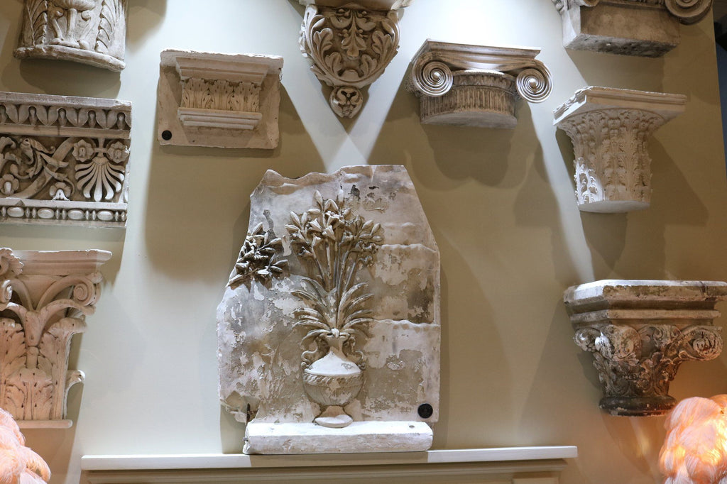 A Plaster Cast Corinthian Capital