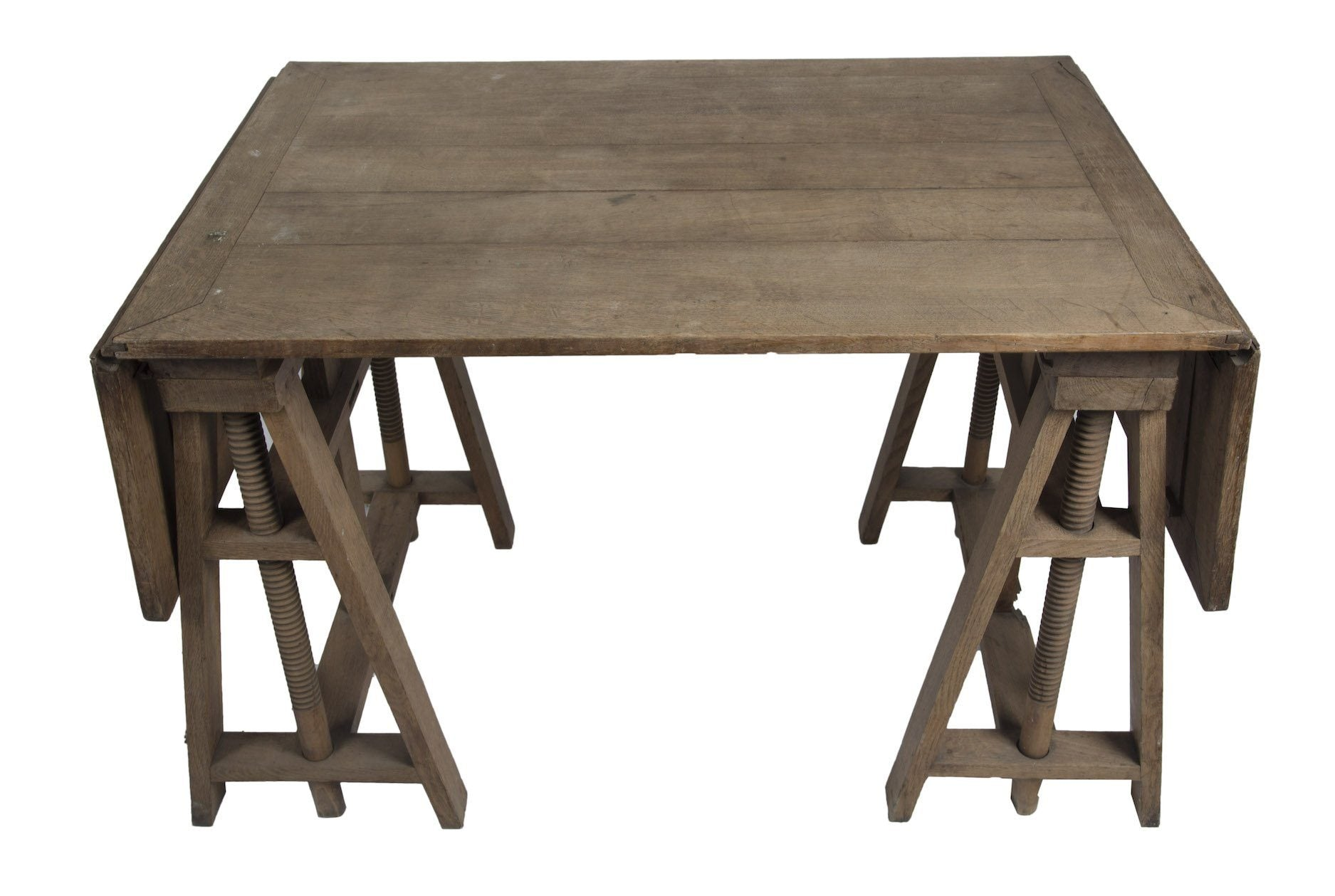 Early 20th Century Vernacular Trestle Table - A Modern Grand Tour