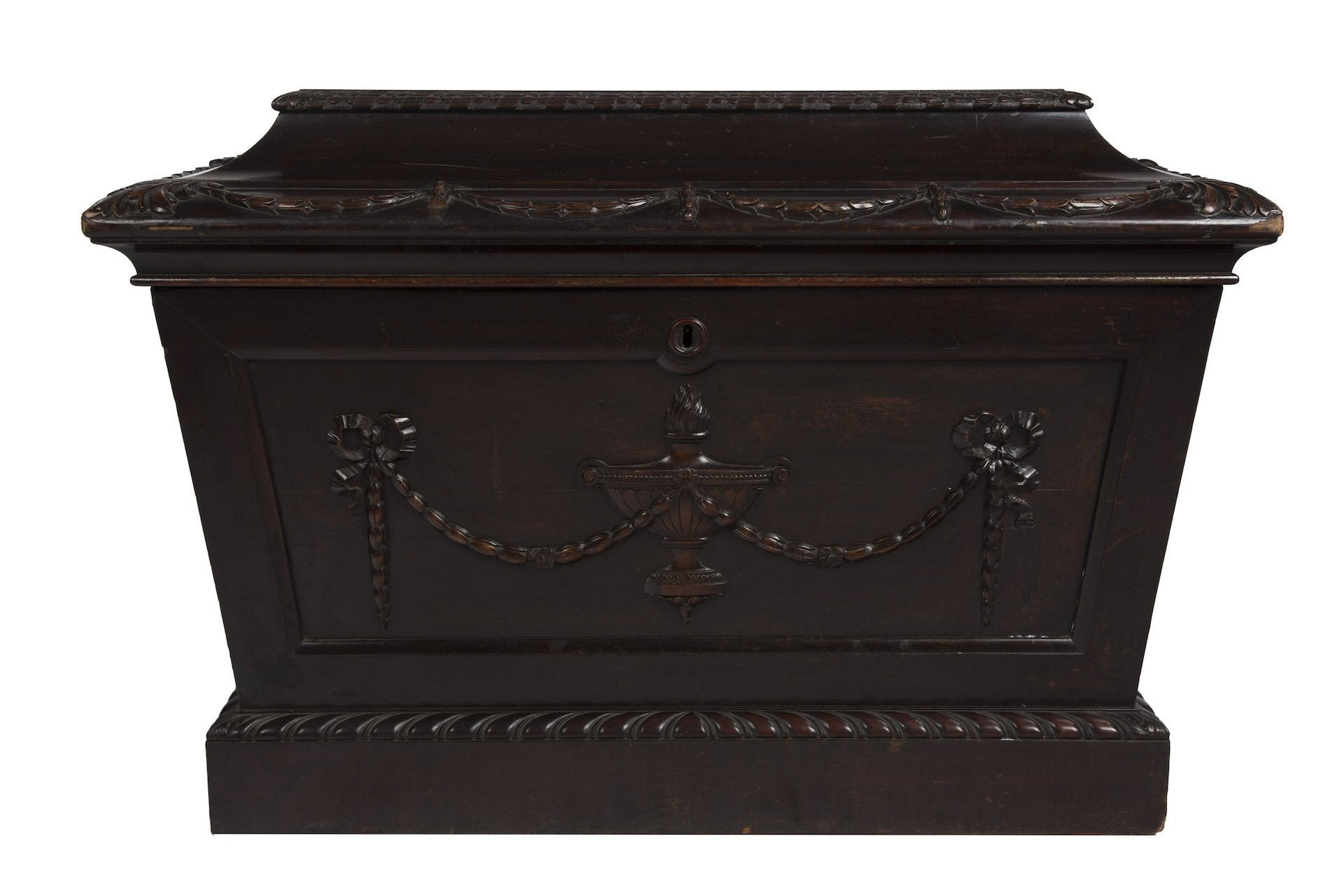 20th Century English Mahogany Cellarette - A Modern Grand Tour
