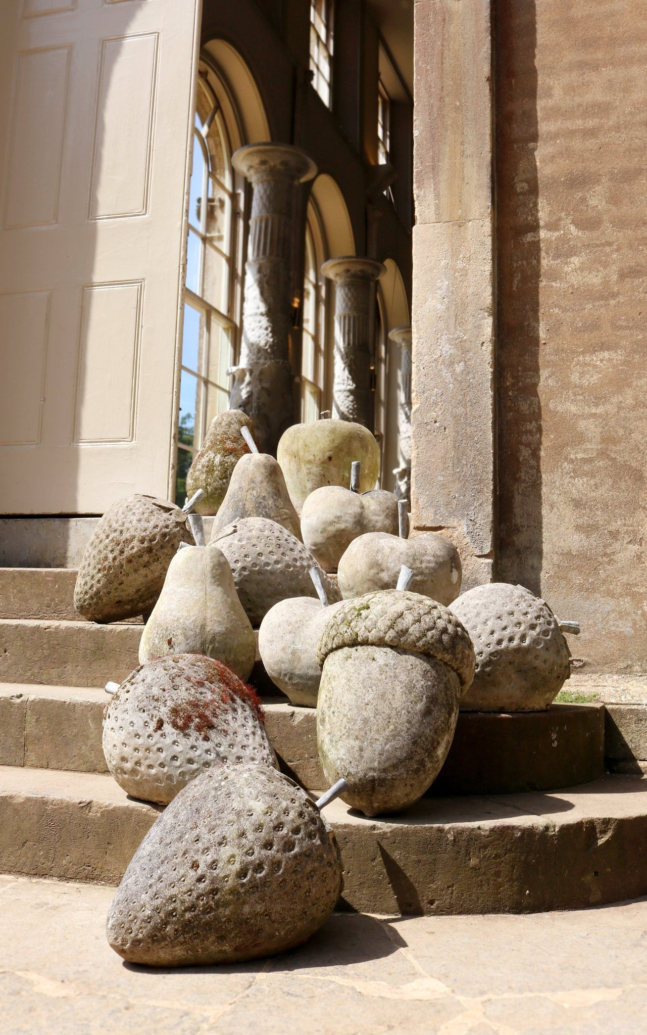Pair of Stone Pears - A Modern Grand Tour