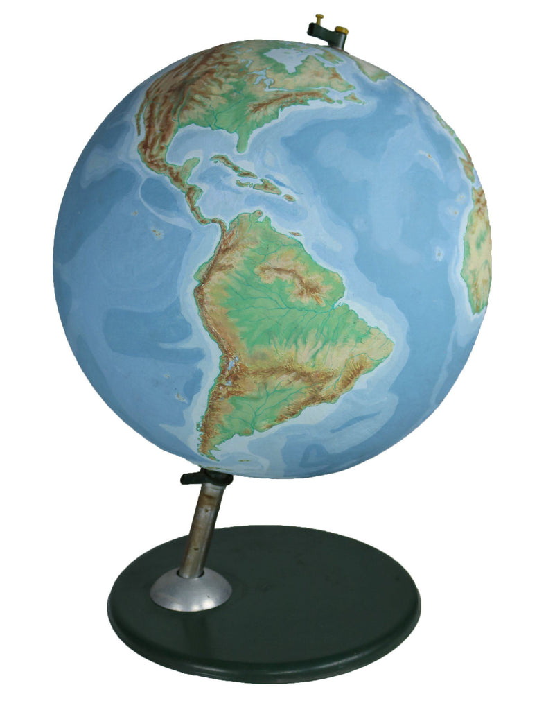 Large Mid Century 3D Globe - A Modern Grand Tour