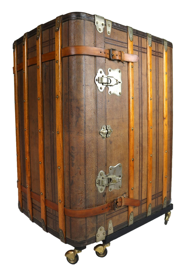20th Century Travel Trunk Bar - A Modern Grand Tour