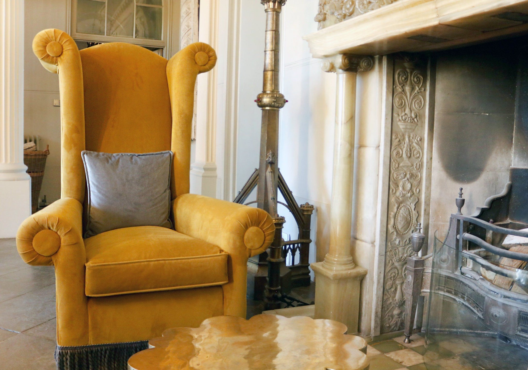 Castle Wing Chair
