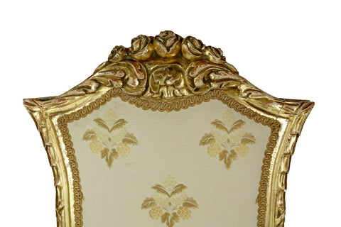 Set of Four Giltwood Italian Chairs - A Modern Grand Tour